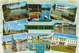 ~~  JP  ~~  95    ~ ENGHEIN LES BAINS  .    8 VUES  . - Enghien Les Bains