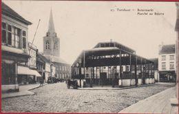 Turnhout Botermarkt Marche Au Beurre Geanimeerd (in Zeer Goede Staat) Kempen - Turnhout