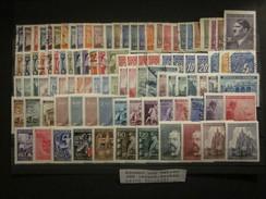 Böhmen Und Mähren Sammlung 100 Marken Gestempelt & Postfrisch - Besetzungen 1938-45