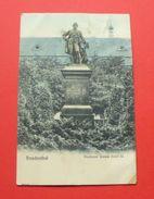 Bruntal (Freudenthal) - 1913 - Czech Rep. --- Denkmal Kaiser Josef II , Tschechien Tchéquie Czechia --- 108 - Tchéquie