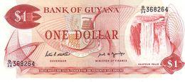 Guyana P.21f  1  Dollar 1992  Unc - Guyana