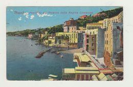 NAPOLI - POSILLIPO DAL PALAZZO DELLA REGINA GIOVANNA - VIAGGIATA 1922 - ANNULLO COSTANTINOPOLI - POSTCARD - Napoli
