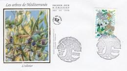 FDC 2017 - Arbres De Méditerranée - Euromed Postal - 1er Jour Le 10.07.2017 à 13 Marseille - FDC