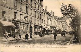 CPA PARIS (18e) MONTMARTRE Le Cabaret BRUANT Theatre VICTOR-HUGO (539434) - France