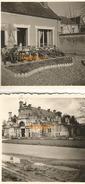 WW2 3x PHOTO ORIGINALE Soldats Allemands à ANET Près Dreux EURE ET LOIR 28 1941 - 1939-45