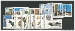 1983 MNH Cyprus, Year Collection, Postfris ** - Zypern (Republik)