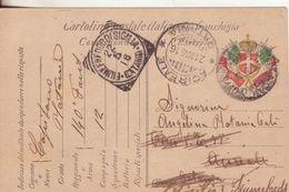 28-Invito Al Collezionismo Di Acireale: 1^ Guerra 1914-18-franchigia Da 140° Fanteria Ad Acireale, Poi Fiumefreddo-1916 - Guerre 1914-18
