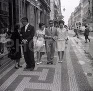 1962 RUA DO OURO LISBOA PORTUGAL 35mm  AMATEUR NEGATIVE NOT PHOTO NEGATIVO NO FOTO - Autres