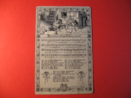CARTOLINA MUSICALE  BININITENLUFTIGE GCHWIZERBUEB ? -  C 1300 - Cartoline