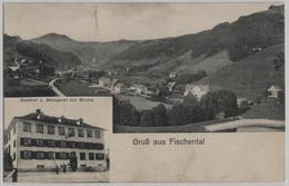 Gruss Aus Fischental - Gasthof Und Metzgerei Zur Blume - Photo: Hch. Sattler - ZH Zurich