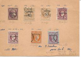 GRECE Classiques Lot De 7 Timbres Hermes Voir Descriptif Sur Les Nombreux Scan Individuels.A 20% DE LA COTE Y/T De 1980 - 1886-1901 Hermes, Klein