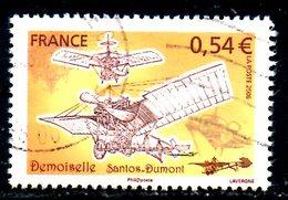 """FRANCE. N°3978 De 2006 Oblitéré. La """"Demoiselle"""". - Avions"""