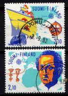 FINLANDE. - 1141/1142° - EUROPA  / DECOUVERTE DE L'AMERIQUE - Finlande