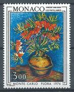 Monaco YT N°1056 Floralies Internationales Van Gogh Neuf ** - Neufs