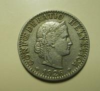 Switzerland 20 Rappen 1926 - Suisse
