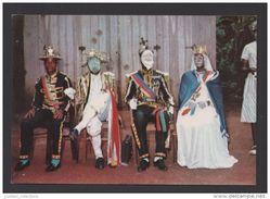 SÃO TOMÉ E PRINCIPE 1960 YEARS TRADITIONAL THEATRE TCHILOLI AFRICA AFRIKA AFRIQUE POSTCARD - Sao Tome And Principe