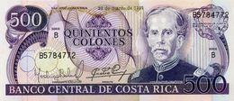 * COSTA RICA 500 COLONES 1985 P-249b UNC [CR541j] - Costa Rica