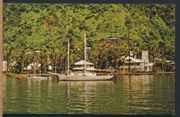 °°° 7947 - AMERICAN SAMOA - PAGO PAGO HARBOR WATERFRONT - 1970 With Stamps °°° - American Samoa