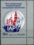 Russia, 2013, Mi. 1966, Sc. 7475, The 18th Conference Of Intl. Association Of Prosecutors, MNH - Unused Stamps