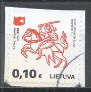 Lithuania 2016. Scott #1065 (U) White Knight - Lituanie