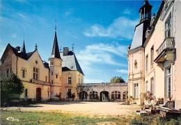 SAINTE SABINE Hotel Restaurant Du Chateau A Bourgeois Pouilly En Auxois Cour D Honneur 15(scan Recto-verso) MA1347 - France