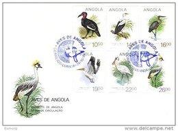 ANGOLA, FDC AF 97-102 Yv 689A-F - Angola
