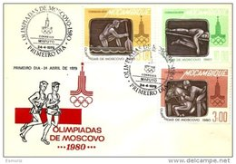 MOZAMBIQUE, FDC AF 114-19 Yv 683-88 (2) - Mozambique