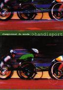 "FRANCE 2002 : Encart 1er Jour "" CHAMPIONNAT DU MONDE HANDISPORT "". N° YT 3495. Voir Les 2 Scans. - Handisport"