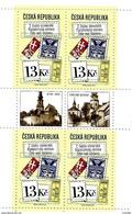 Czech Republic - 2016 - Czech And Slovak Philatelic Exhibition In Zdar Nad Sazavou - Mint Booklet Stamp Pane With 2 Lbls - Neufs