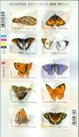 SOUTH AFRICA 2013 BUTTERFLIES PANE OF 10** (MNH) - Butterflies