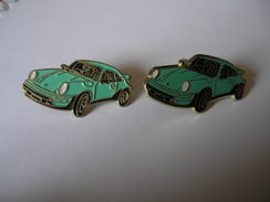 2 Pin's PORSCHE 911 - Porsche