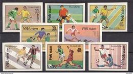 Soccer World Cup 1982 - VIETNAM - Set Imp. MNH** - Coupe Du Monde