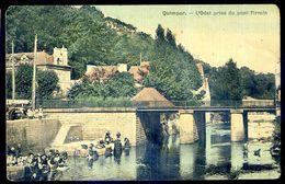 Cpa Du 29  Quimper - L' Odet Prise Du Pont Firmin    SEP17-20 - Quimper