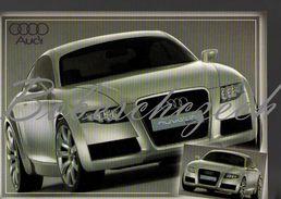 8-239 CZECH REPUBLIC Cca 2007 - Audi Nuvolari Quattro 2-door 4-seat Coupé - Front Engine, Quattro Permanent Four Wheel - Voitures De Tourisme