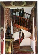 X21004 SAINTE-SABINE Ste Cote-d'Or Le Chateau Envolée D'un Escalier Bois Tournant Oeuvre Art Menuiserie CIM COMBIER - France