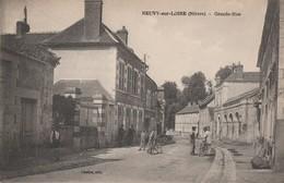 58 - NEUVY SUR LOIRE - Grande Rue - France