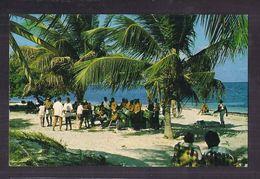 CPSM ANTIGUA - Dancing To The Calypso Rhythm - TB PLAN TB ANIMATION Danse + TB TIMBRES ANTIGUA Verso - Antigua & Barbuda
