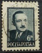 POLAND 1948 BOLESLAW BIERUT ZLOTY VALUE BOTTOM RIGHT CORNER - 1944-.... Republic
