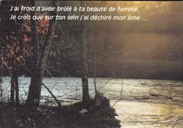 RARE--FEMME--j'ai Froid D'avoir Brûlé à Ta Beauté De Femme Je Crois Que Sur Ton Sein J'ai Déchiré Mon --voir 2 Scans - Femmes
