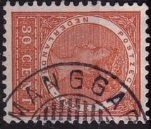 Ned. Indië: MANGGAR (406) Op 1903-1908 Koningin Wilhelmina 30 Ct Oranjebruin NVPH 56 - Indes Néerlandaises