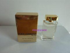 NOUVEAUTE - Miniature THE ONE Eau De Toilette De Dolce Gabbana - Miniatures Modernes (à Partir De 1961)