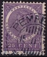 Ned. Indië: PEMALANG (554) Op 1903-1908 Koningin Wilhelmina 25 Ct Violet NVPH 55 - Indes Néerlandaises