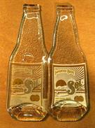 BOUTEILLE EN VERRE APPLATIE BIERE SOL BIRRA BIER BEER PRODUCT OF MEXICO - Beer