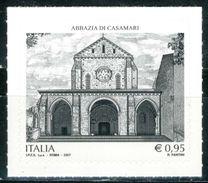 ITALIA / ITALY 2017** - Abbazia Di Casamari - 1 Val. Autoadesivo Come Da Scansione. - 6. 1946-.. Republik