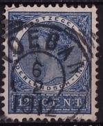 Ned. Indië: TOEBAN (891) Op 1903-1908 Koningin Wilhelmina 12½ Ct Blauw NVPH 49 - Indes Néerlandaises