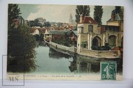 Old Postcard France - Chartres - L'Eure - Vue Prise De La Courtille - Posted 1910 - Chartres