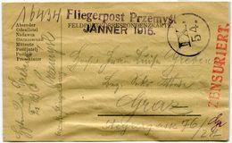 Poste Aérienne Militaire Avec Contrôle De La Censure En 1915 - ....-1919 Übergangsregierung