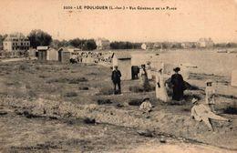 LE POULIGUEN -44- VUE GENERALE DE LA PLAGE - Le Pouliguen