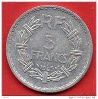 C20.5/  FRANCE  5 FRANCS ALU LAVRILLIER 1945  Alu - France