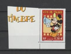 FRANCE / 2004 / Y&T N° 3641a ** : Fête Du Timbre (Disney / Mickey) De Carnet Avec Bords - Gomme D'origine Intacte - Francia